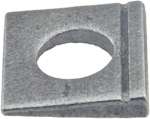 Scheibe DIN 435 Stahl blank /ÜH vierkant Neigung 14/% keilf/örmig 11-100 St/ück