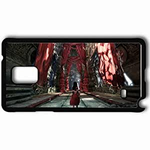 Personalized Samsung Note 4 Cell phone Case/Cover Skin Alice Madness Returns Black WANGJING JINDA