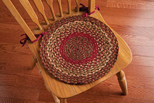 New Ihf Home Decor Braided Rug 15 Chair Cover Pads