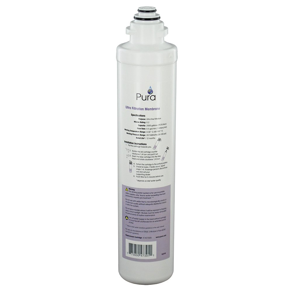 Pura 41407005 Quick Change Ultrafiltration Membrane 0.2 micron