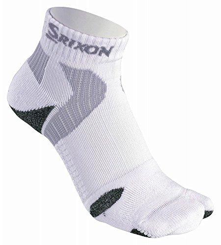 DUNLOP(ダンロップ) SRIXON 3Dプレミアムショートソックス アシナビ メンズ SMO8433 ホワイト