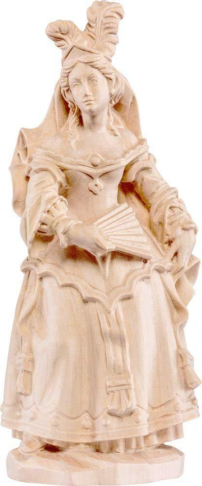 Natur - Unbemalt 18 cm Holzschnitzerei Oswald Amort Cantatrice   18 cm   Natur - Unbemalt