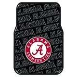 The Northwest Company Officially Licensed NCAA Alabama Crimson Tide Two-Pack Front Car Floor Mat