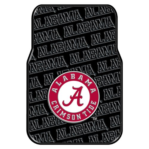 - The Northwest Company Officially Licensed NCAA Alabama Crimson Tide Auto Front Floor Mat, 2-Pack