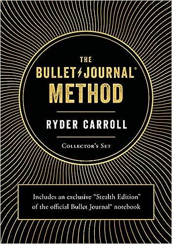 the bullet journal method collectors set