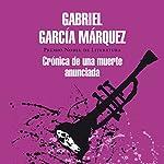 Crónica de una muerte anunciada [Chronicle of a Death Foretold]   Gabriel García Márquez