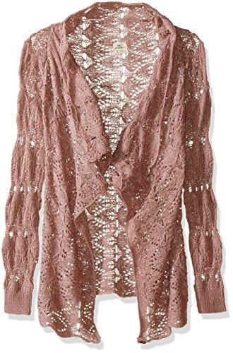 O'Neill Little Girls' Bonfire Sweater, Adobe Rose, (Oneill Kids Sweater)