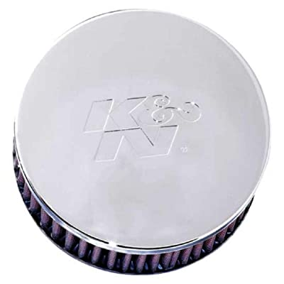 K&N Universal Clamp-On Air Filter: High Performance, Premium, Washable, Replacement Engine Filter: Flange Diameter: 2.4375 In, Filter Height: 2 In, Flange Length: 0.625 In, Shape: Round, RC-0850: Automotive