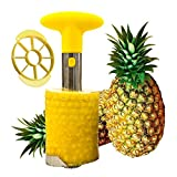 Tailbox Stainless Steel Pineapple Corer Slicer - Pineapple De-Corer, Cutter, Pineapple Peeler Stem Remover Blades for easy coring and...