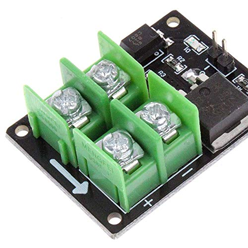 Blue 3V 5V Low Control High Voltage 12V 24V 36V E-switch Mosfet Module For Connect IO MCU PWM Control Motor Speed 22A