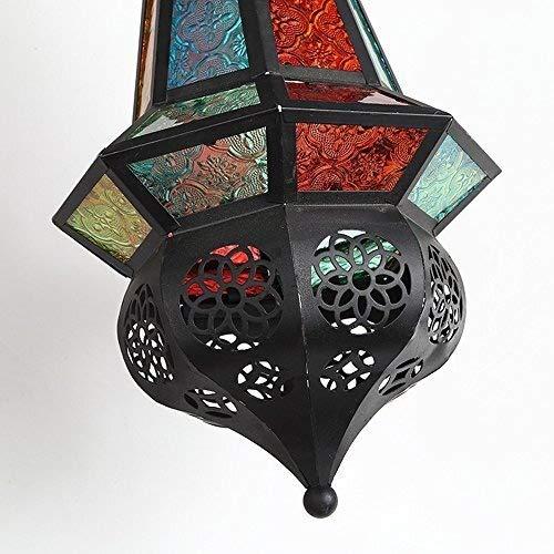 XFZ Lanterna da Muro Vintage marocchina Cafe Bar Corrimano Applique da Parete personalit/à Ristorante Grill Bar Internet Cafe Corridoio Mediterraneo Lampada da Parete E27 110-240V