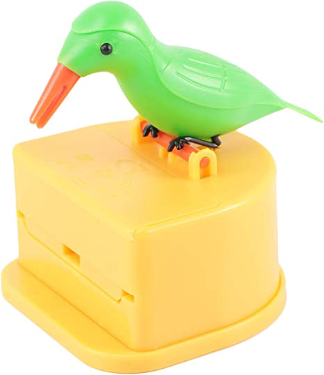 """Toothpick dispenser in the form of a /""""Bird/"""" Various Colours to Choose"""