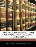 Hours of Idleness, George Gordon Byron, 1144804523