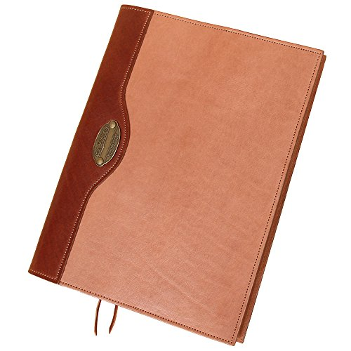 Composition Writing Journal Notebook Refillable Notepad Saddle Tan USA Made No30 by Col. Littleton