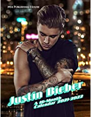 Justin Bieber Calendar 2021-2022: Monthly Photo Poster Planner Of Justin Bieber   For Home Office Decor