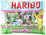 Haribo Happy Hoppers Gummi Candy Individually Wrapped for Easter Egg Hunts and Basket Fillers, 9.5 oz (2 Pack)