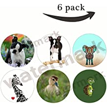 Multi-Function Mounts and Stands Pop Grip Socket for Smartphone Gift(R138)mascovy,beach tortoise,boston terrier dog cute puppy,elephant,giraffe with red heart