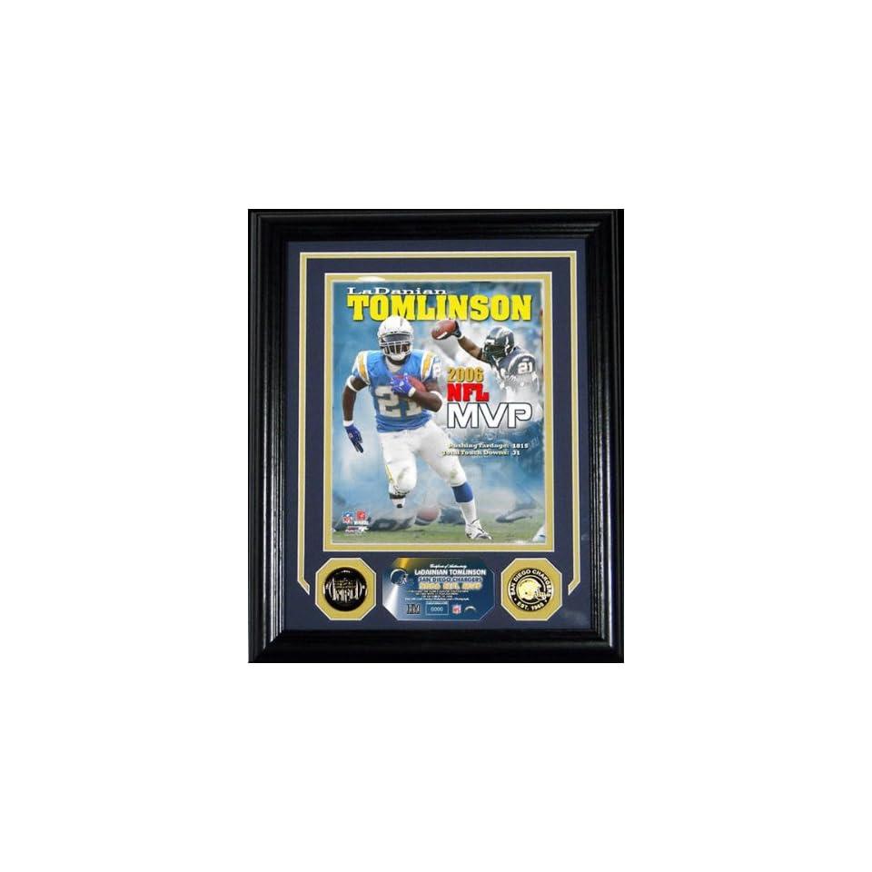 LaDainian Tomlinson San Diego Chargers 2006 NFL MVP Photomint