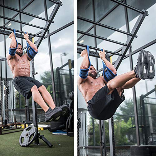 ✅ Ab Double Strap Hanging Straps Gym At Home Abs Workout Equipment For Men Wom