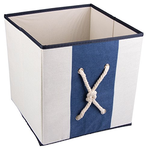 Nautical Mariner's Knot Collapsible Storage Organizer by Cle