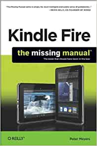 Amazon Com Kindle Fire The Missing Manual The Book That border=