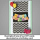 DIY Create Personalized Recordable Musical Card - Vertical Blank Card