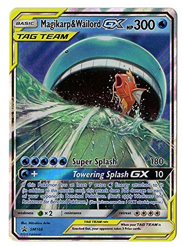 Magikarp & WAILORD GX SM166 - Sun Moon TAG Team Promo Holo Rare