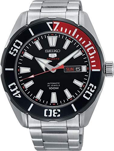 Seiko Reloj Analógico para Hombre de Automático con Correa en Acero Inoxidable SRPC57K1