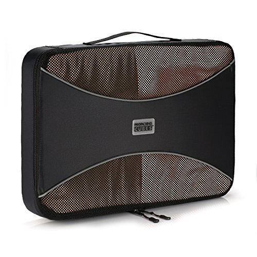 Pro Packing Cubes | LARGE Packing Cube |Ultra Lightweight Luggage Organizer for Travel | Featuring Durable Rip-Stop Nylon and YKK Zippers - Packing Large