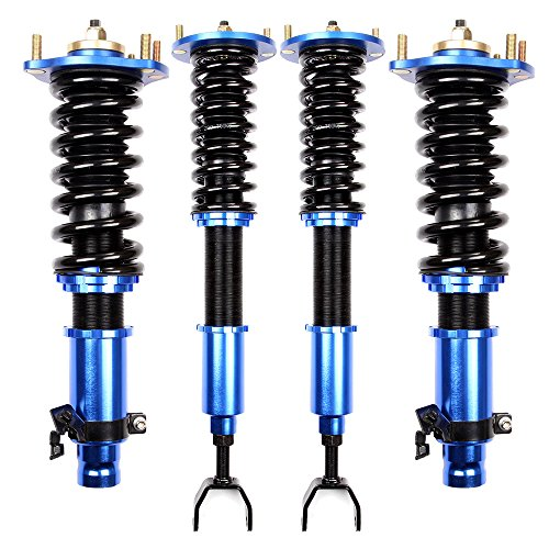 ECCPP 1 Full Coilovers Suspension Shocks Springs Struts for 1992-2001 Honda Prelude by ECCPP