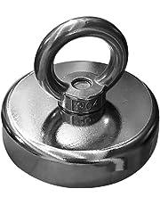 Yardwe 60MM Diameter Neodymium-Iron-Boron Magnet for Underwater Metal Salvage