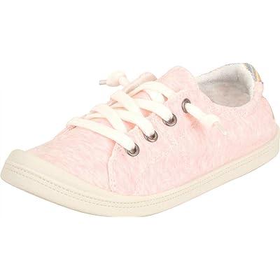 Cambridge Select Women's Lightweight Classic Slip-On Comfort Fashion Sneaker   Shoes