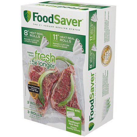 FoodSaver Heat-Seal Rolls