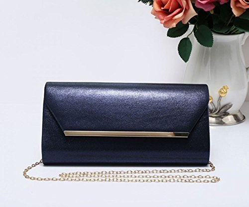 Purse Clutch 1703 Blue Leahward Night Bag Prom Party Women's Out Evening For Wedding PqPw5YSF