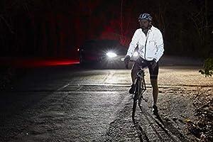 Ettore Chaqueta De Ciclismo Impermeable Y Transpirable De Alta Visibilidad En Color Plata para Hombre Night Glow