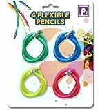 Pennine Flexible Pencils (Pack of 4)