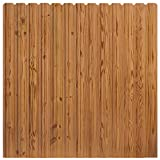 Pressure-Treated Cedar-Tone Dog Ear Privacy Fence Panel Kit, 6 ft. x 6 ft.
