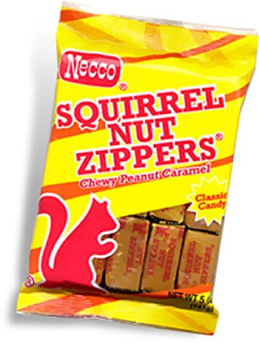 Squirrel Nut Zippers, 5oz Bag