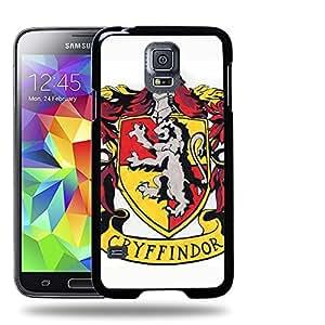 Case88 Designs Harry Potter & Hogwarts Collections Hogwarts Gryffindor Sigil Protective Snap-on Hard Back Case Cover for Apple Samsung Galaxy S5