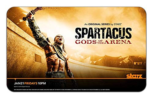 Spartacus Gods of The Arena TV Show Stylish Playmat Mousepad (24 x 14) Inches [PM] Spartcaus Gods-2 (Best Gods For Arena)
