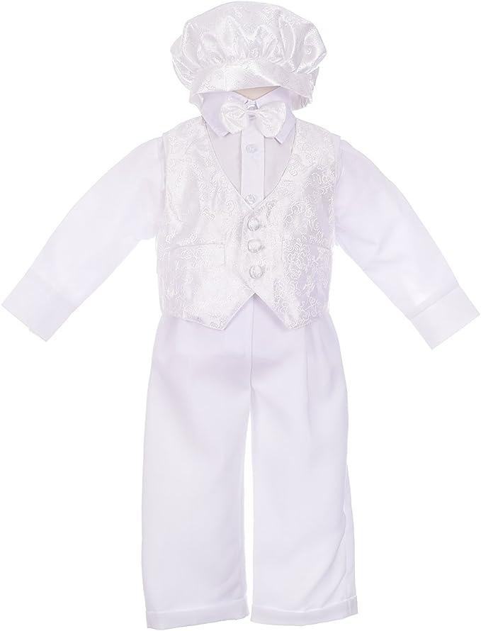 Amazon.com: Dressy Daisy - Traje de bautizo para bebé (5 ...
