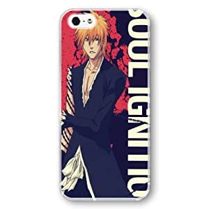 Onelee(TM) Manga Bleach iPhone 5/5s Case & Cover - Japanese anime iPhone Case & Cover - Transparent
