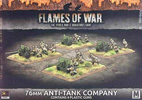Flames of War: Mid War: Soviet Union: 76mm / 57mm Anti-Tank Gun Company (SBX48)