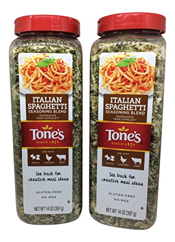 Pack of 2 Italian Spaghetti Seasoning Blend 14 Oz Each