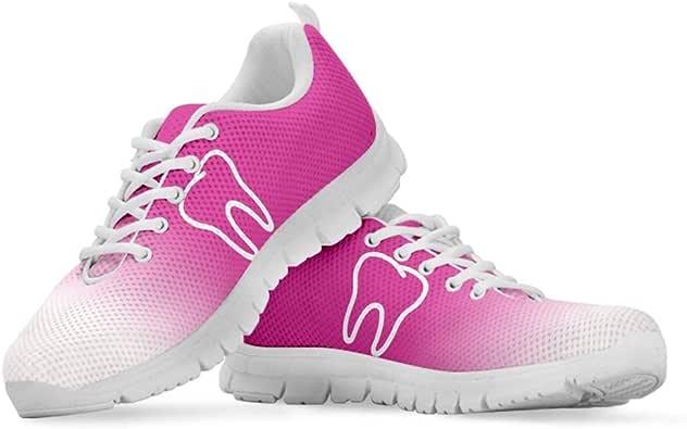 Agroupdream Zapatillas para Mujer para Enfermera, Ligeras, para Correr, Caminar, Malla, Planas, para Tenis, Deportes, Enfermero Nurse 36-43 EU: Amazon.es: Zapatos y complementos