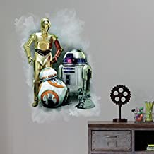 RoomMates RMK3079TB Star Wars The Force Awakens Peel and Stick Giant Wall Graphic