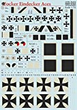 DECAL FOR AIRPLANE FOKKER EINDECKER ACES AIRCRAFT 1/72 PRINT SCALE 72-213