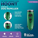 Hoont Electronic Dog Repellent and Trainer with LED Flashlight/Powerful Sonic + Ultrasonic Dog Deterrent and Bark Stopper