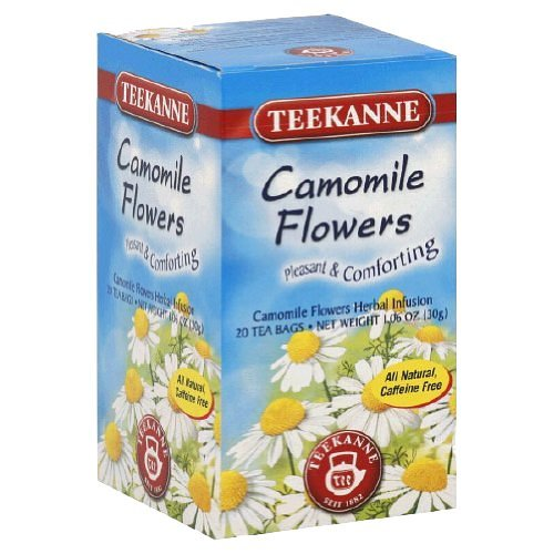 Teekanne Tea Herbal Chamomile, 20 Teabags Box