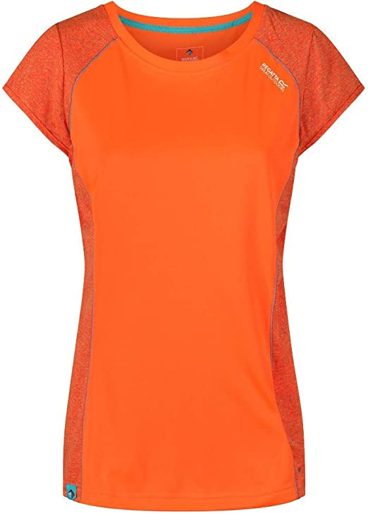 Regatta Womens Hyper-Reflective II Quick Drying Active Sports Camiseta Mujer